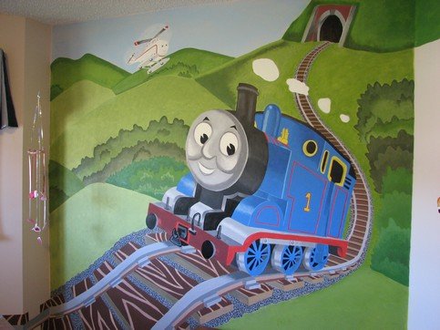 THOMAS The ENGINE Mural Photo Gallery. Pricing. Gallery Part 70
